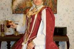 Red Elizabethan Dress