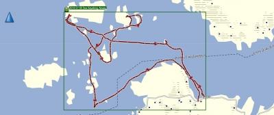2018 07 09 Sea Kayaking Arisaig Visual Tracklog